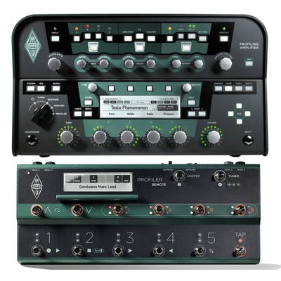 Kemper Profiling Amp in Black With Remote Footswitch Set