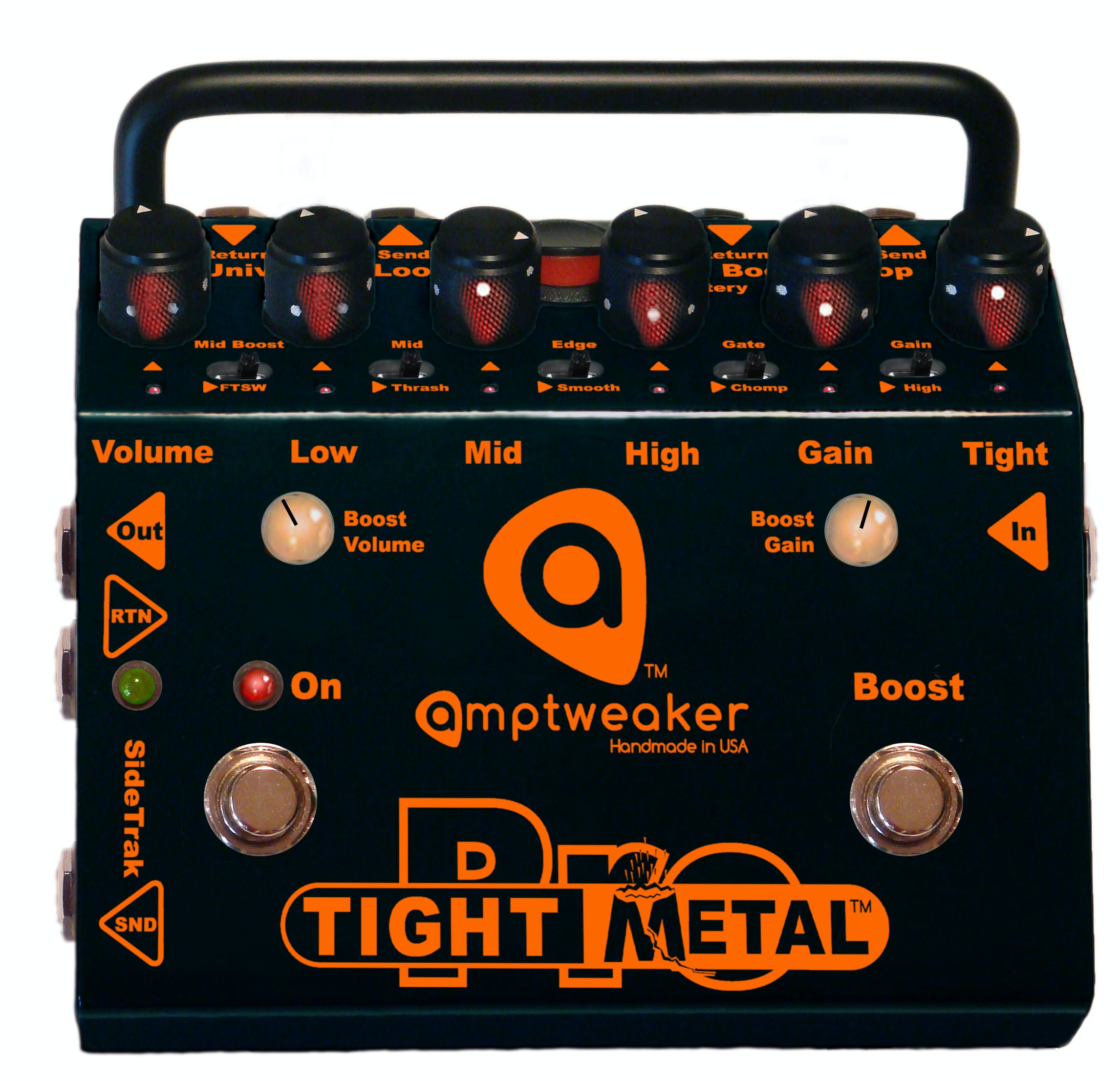 Amptweaker Tight Metal Pro Pedal Andertons Music Co Efek Gitar