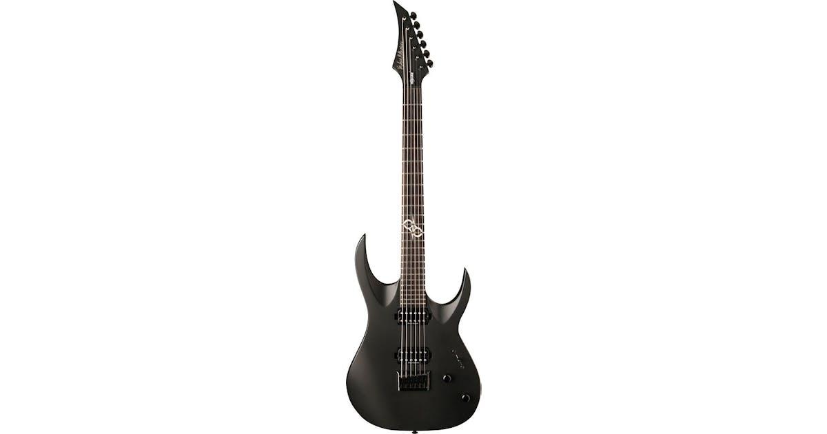 washburn px solar 160 c ola englund guitar in carbon black andertons music co. Black Bedroom Furniture Sets. Home Design Ideas