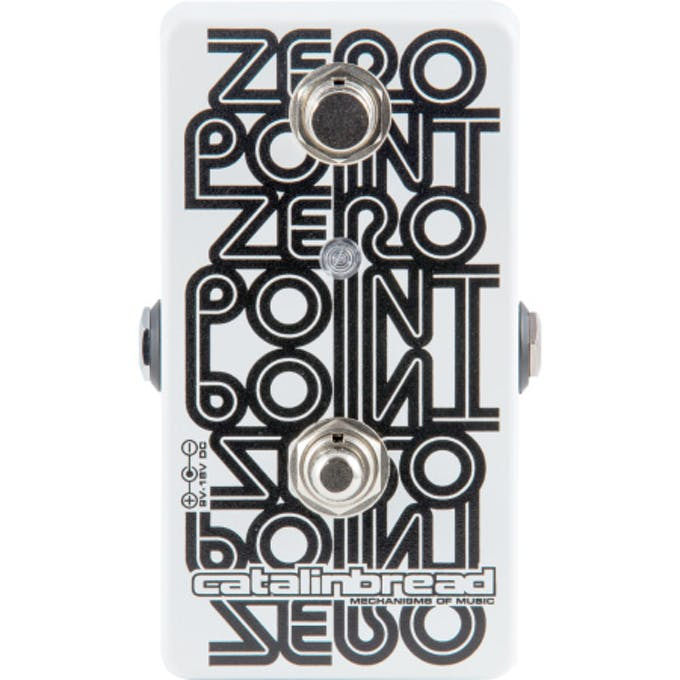 Catalinbread Zero Point Studio Manual Tape Flanger Pedal - Andertons