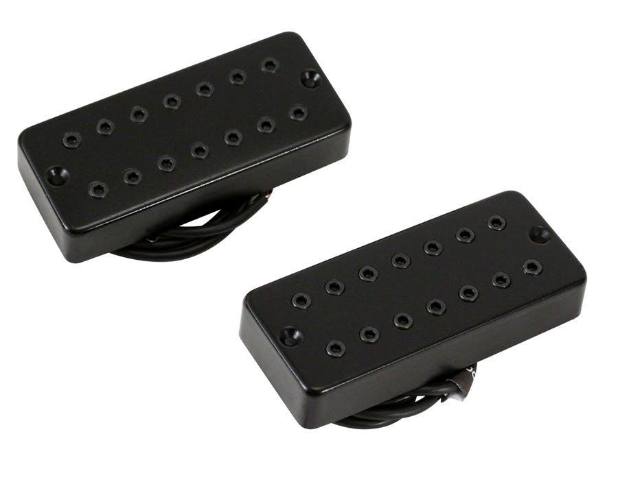 Bare Knuckle Juggernaut 7-String Open Bridge Guitar Humbucker Pickup Black Bolts