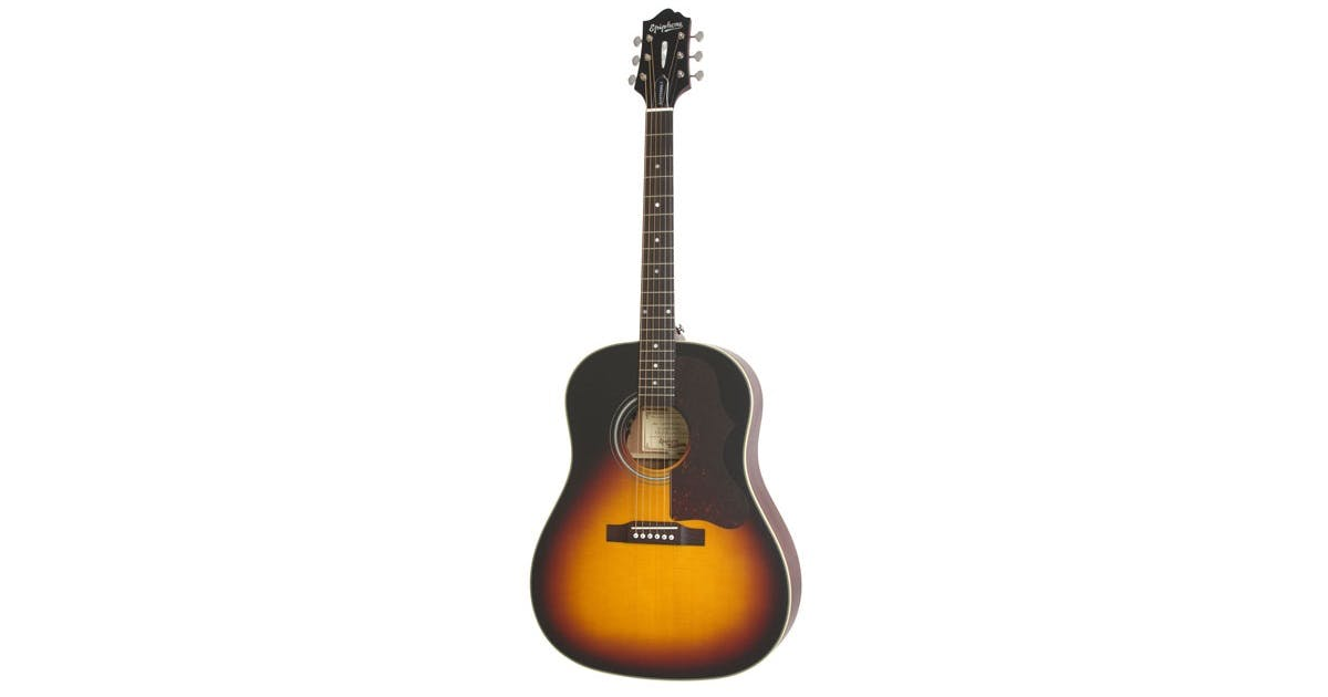 epiphone masterbilt aj 45me electro acoustic in vintage sunburst andertons music co. Black Bedroom Furniture Sets. Home Design Ideas
