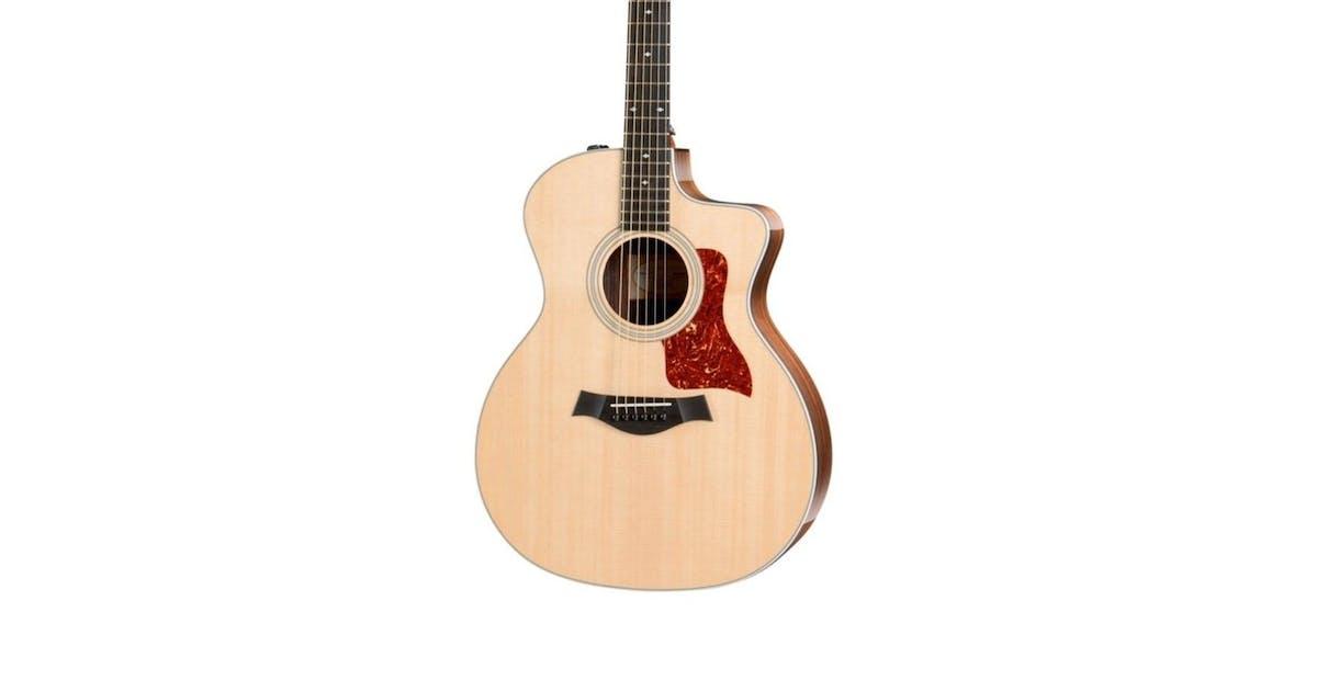 taylor 214ce dlx electro acoustic guitar andertons music co. Black Bedroom Furniture Sets. Home Design Ideas