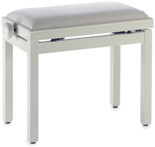 Stagg Rise u0026 Fall Piano Stool w/ Velvet Top in Matt White (N.B.  sc 1 st  Andertons & Stagg Rise u0026 Fall Piano Stool w/ Velvet Top in Matt White ... islam-shia.org