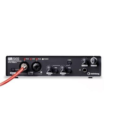 Steinberg UR242 USB Audio Interface w/ Cubase AI