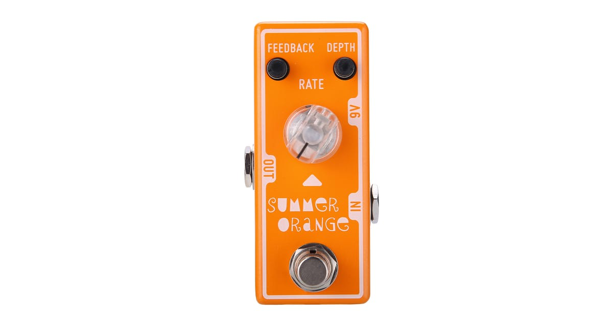 d4ac08e26d11e1 Tone City Summer Orange Phaser Pedal - Andertons Music Co.