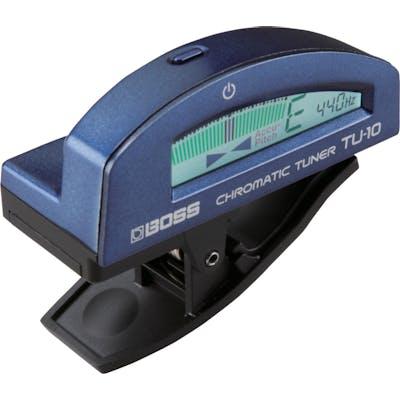 BOSS TU10 Clip On Tuner - Metallic Blue