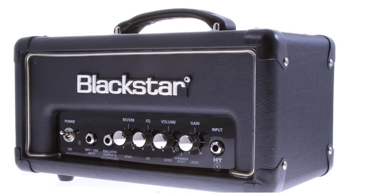 blackstar ht 1rh 1w head with reverb. Black Bedroom Furniture Sets. Home Design Ideas