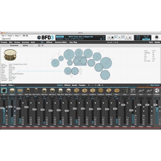 BFD 3 Premium Acoustic Drum Module (Mac/PC) - Andertons Music Co