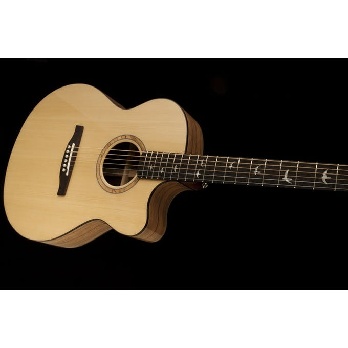 fc0b05799d7 PRS SE Alex Lifeson Thinline Electro Acoustic Guitar in Natural ...