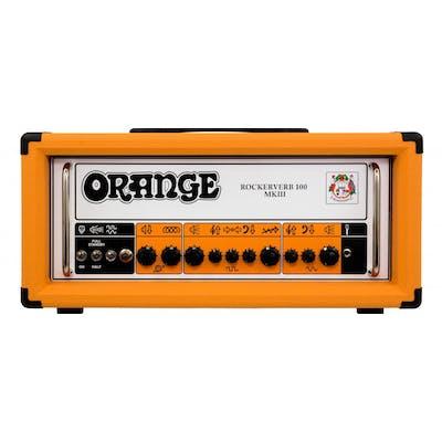 Orange Rockerverb 100 Valve Head MKIII