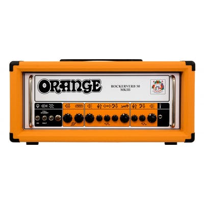 Orange Rockerverb 50 Valve Head MKIII in Orange