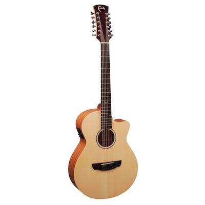 Faith Guitars Naked Series Venus 12 String Electro Acoustic