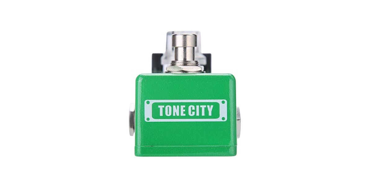 tone city tape machine delay pedal andertons music co. Black Bedroom Furniture Sets. Home Design Ideas