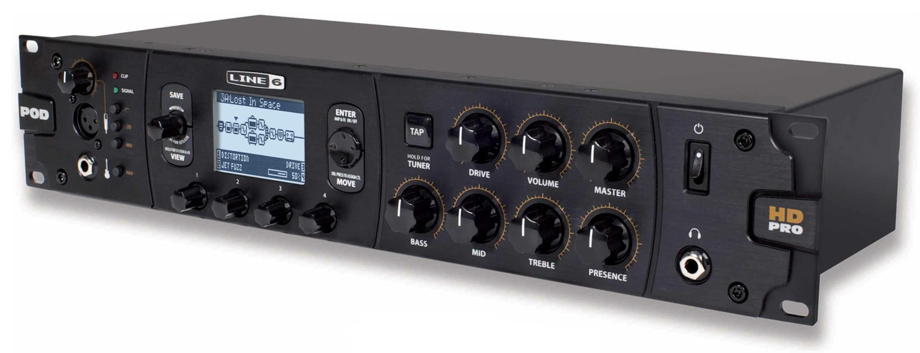 POD HD PRO X Guitar Multi-Effects Processor and Studio Interface -  Andertons Music Co.