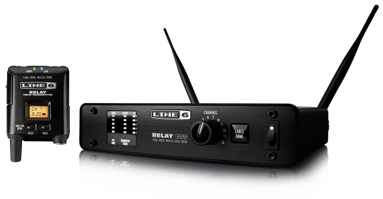 line 6 relay g55 half rack digital wireless guitar system