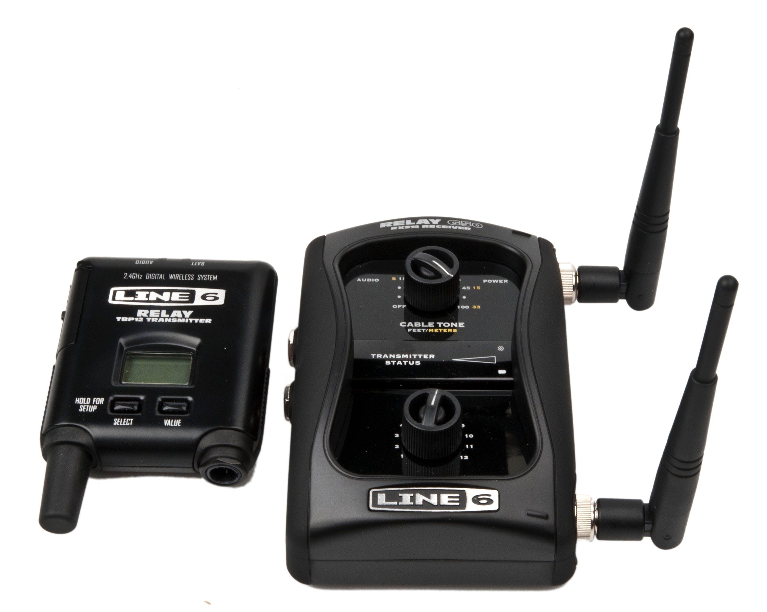 Line 6 Relay G50 Digital Instrument Wireless System 2.4 gHz 12 Channels