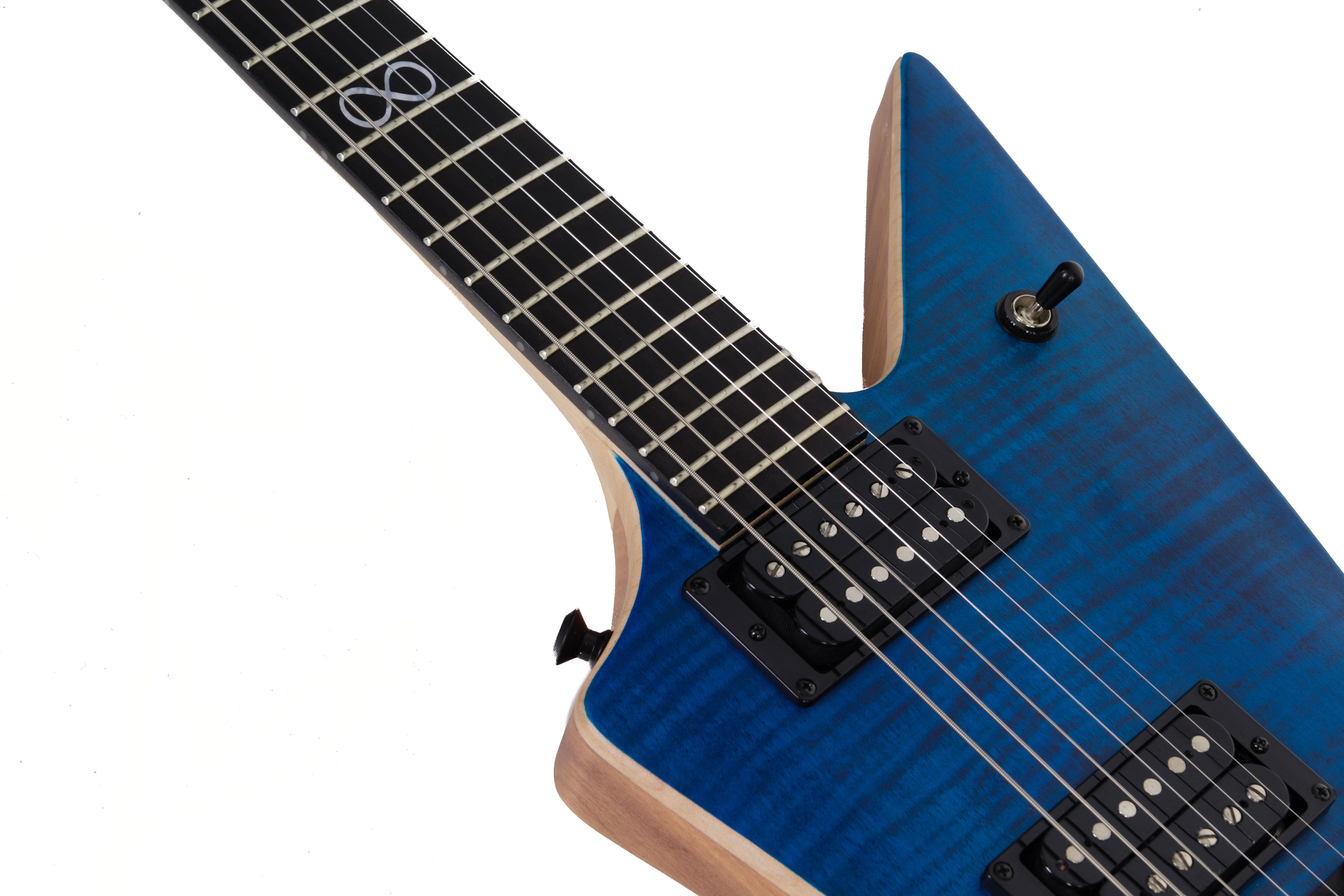 Chapman Ghost Fret in Flame Blue - Andertons Music Co.