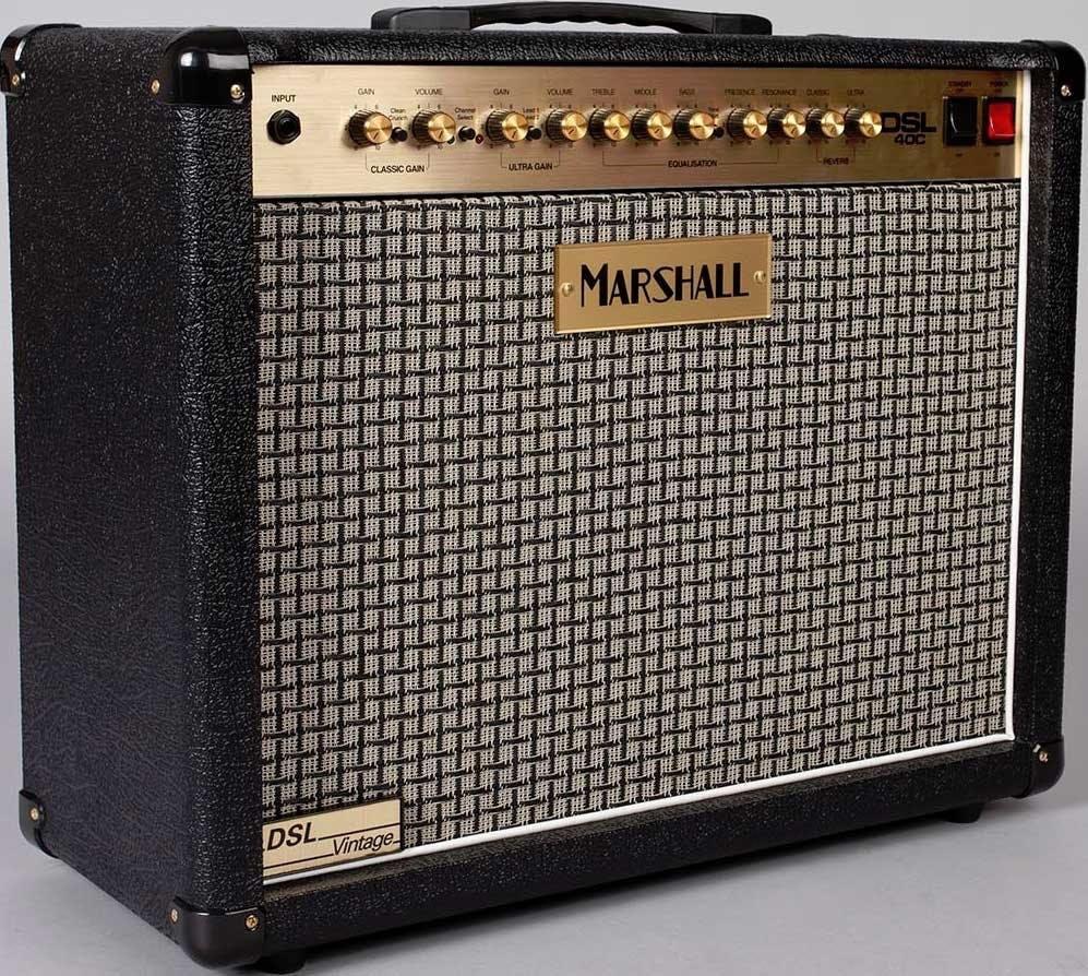 Limited Edition Marshall DSL40CV Vintage finish Combo