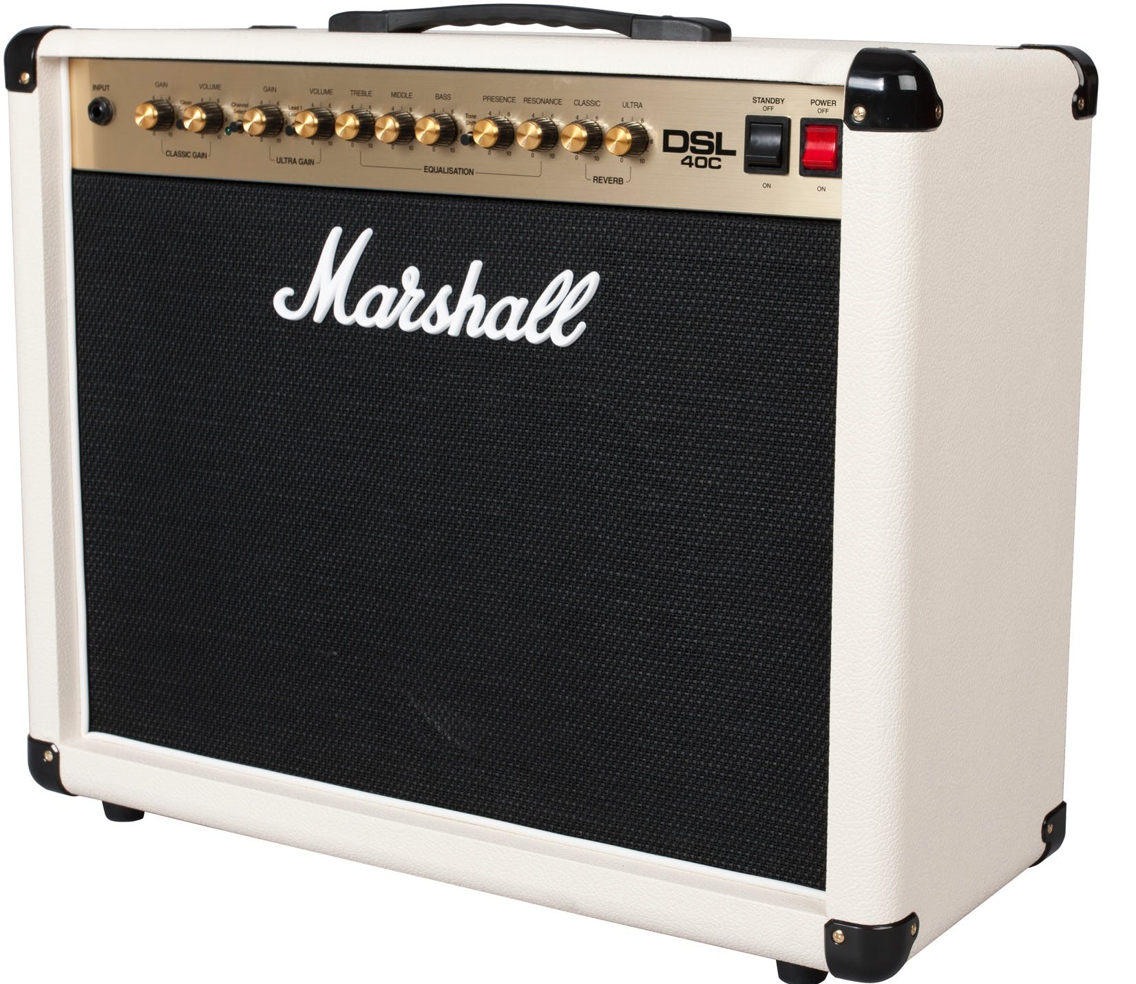 Limited Edition Marshall DSL40CC White Combo - Andertons