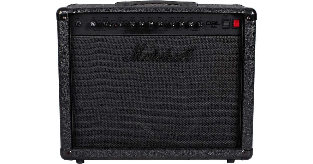 Limited Edition Marshall DSL40CB Black Combo - Andertons