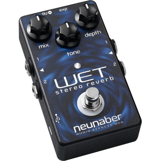 Neunaber Wet v2 Reverb Stereo Buffered Bypass Pedal