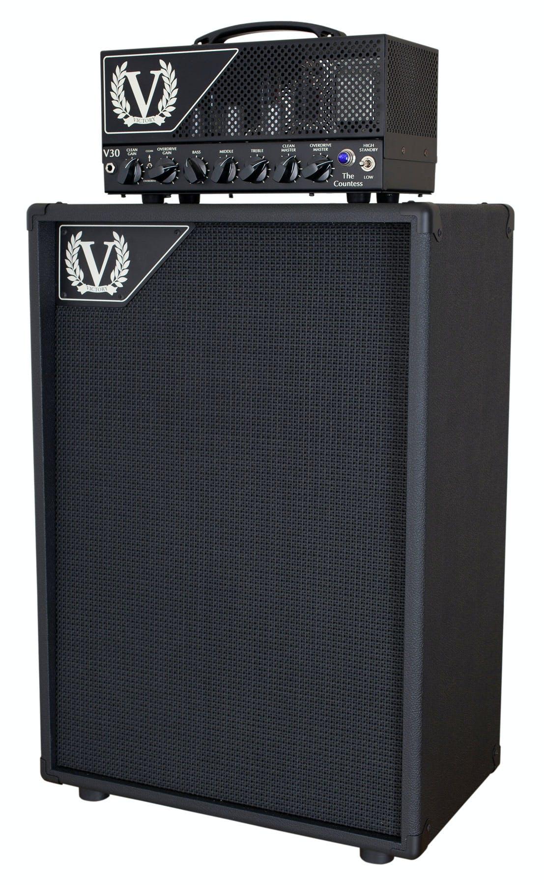 Victory V212-VV Vertical Cabinet with Celestion Vintage 30s ...