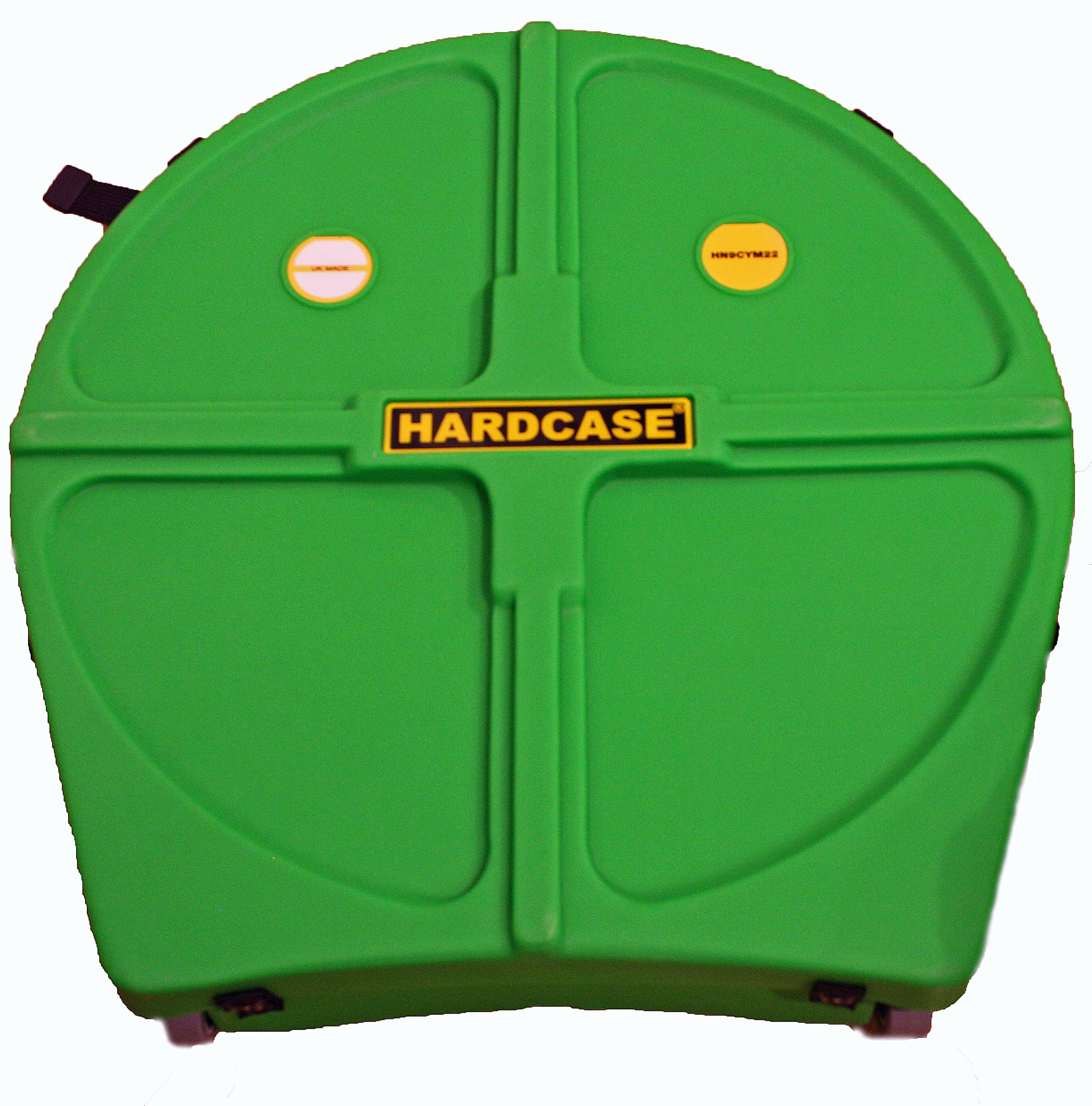 Hardcase HNP9CYM22LG With Wheels Coloured Cymbal Case Light Green