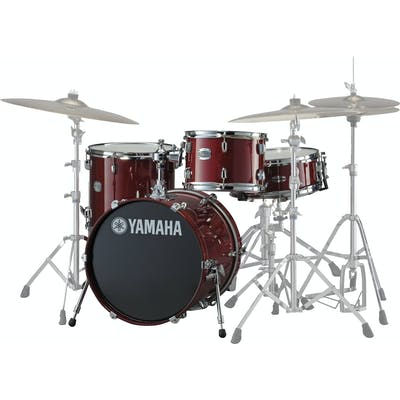Yamaha Stage Custom Bepop Shell Pack in Cranberry Red
