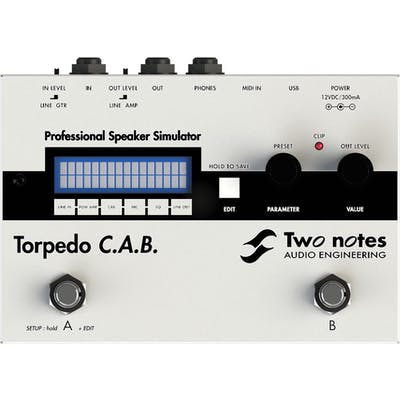 Two Notes Torpedo CAB Pedal Bundle With Free Extra Cabinets