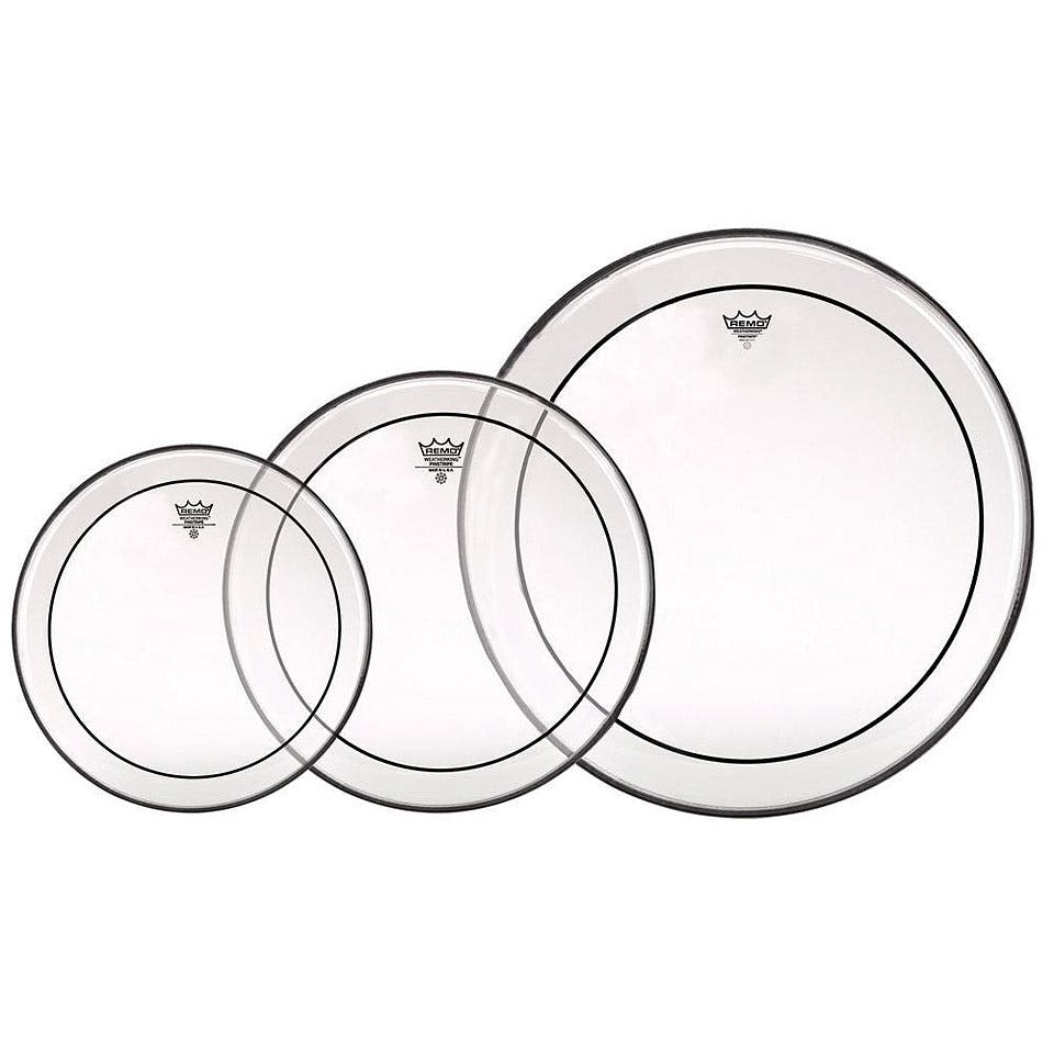 Remo Clear Pinstripe Clear Set 121316 Wfree 14