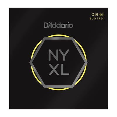 D'Addario NYXL0946 9-46 Nickel Wound Electric Guitar Strings