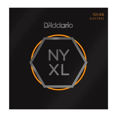 D'Addario NYXL1046 Regular Light 10-46 Electric Guitar Strings