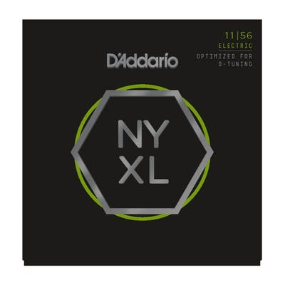 D'Addario NYXL1156 11-56 Nickel Wound Electric Guitar Strings