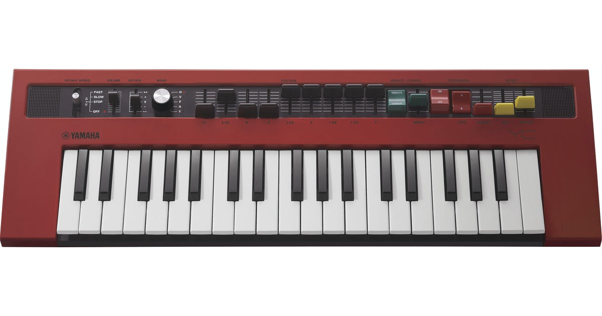 Yamaha Reface YC Compact Combo Organ Keyboard - Andertons Music Co