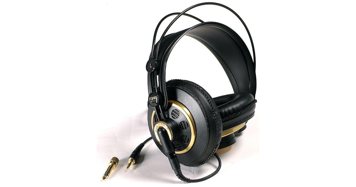top brands factory authentic classic styles AKG K240 Studio Semi- Open Back Monitoring Headphones - Andertons ...