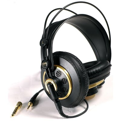 AKG K240 StudioSemi- Open Back Monitoring Headphones