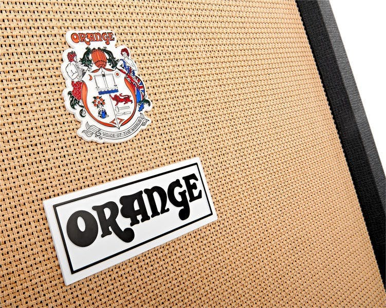 Orange PPC412 4x12 Closed Back Cabinet in Black - Andertons Music Co.