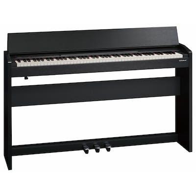 Roland F140R CB Compact Digital Home Piano in Contemporary Black