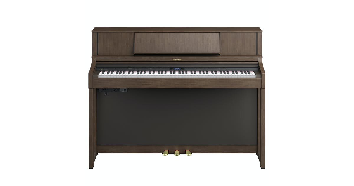 roland lx7 bw home digital piano in brown walnut andertons music co. Black Bedroom Furniture Sets. Home Design Ideas