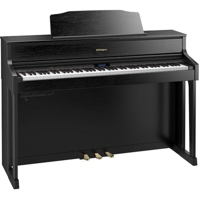 Roland HP605 CB - Home Digital Piano in Contemporary Black