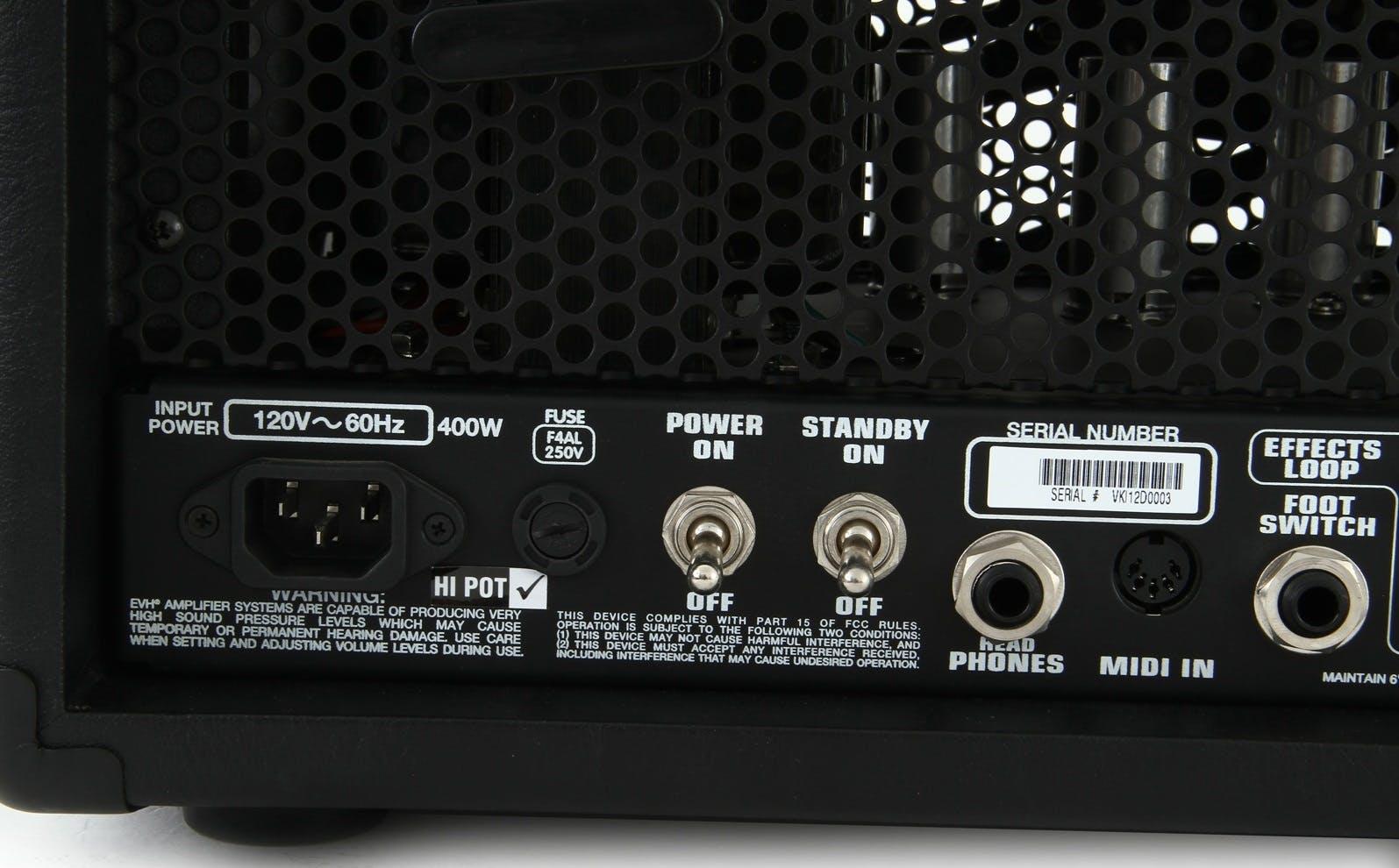 Evh 5150 Iii Hd 100w Tube Amplifier Head Black Andertons Music Co 100 W Valve Audio