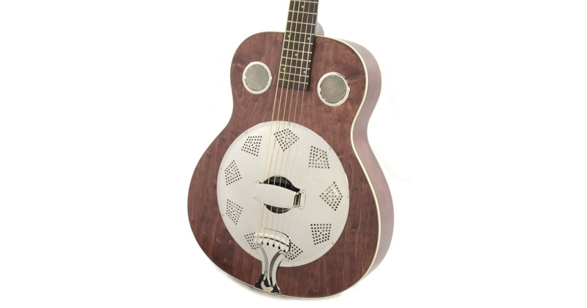 fender brown derby resonator in brown stain andertons music co. Black Bedroom Furniture Sets. Home Design Ideas