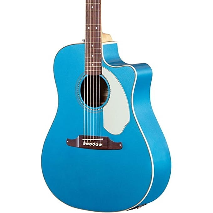 Fender Sonoran SCE Acoustic Guitar In Lake Placid Blue W Cutaway
