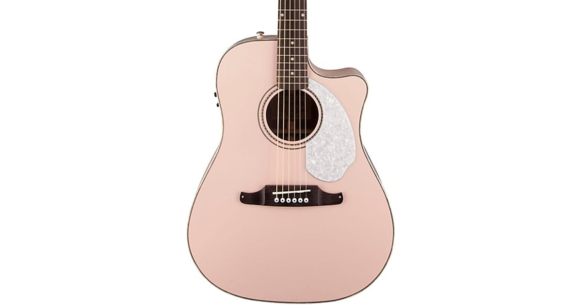 4124ddc84e Fender Sonoran SCE Shell Pink - Andertons Music Co.