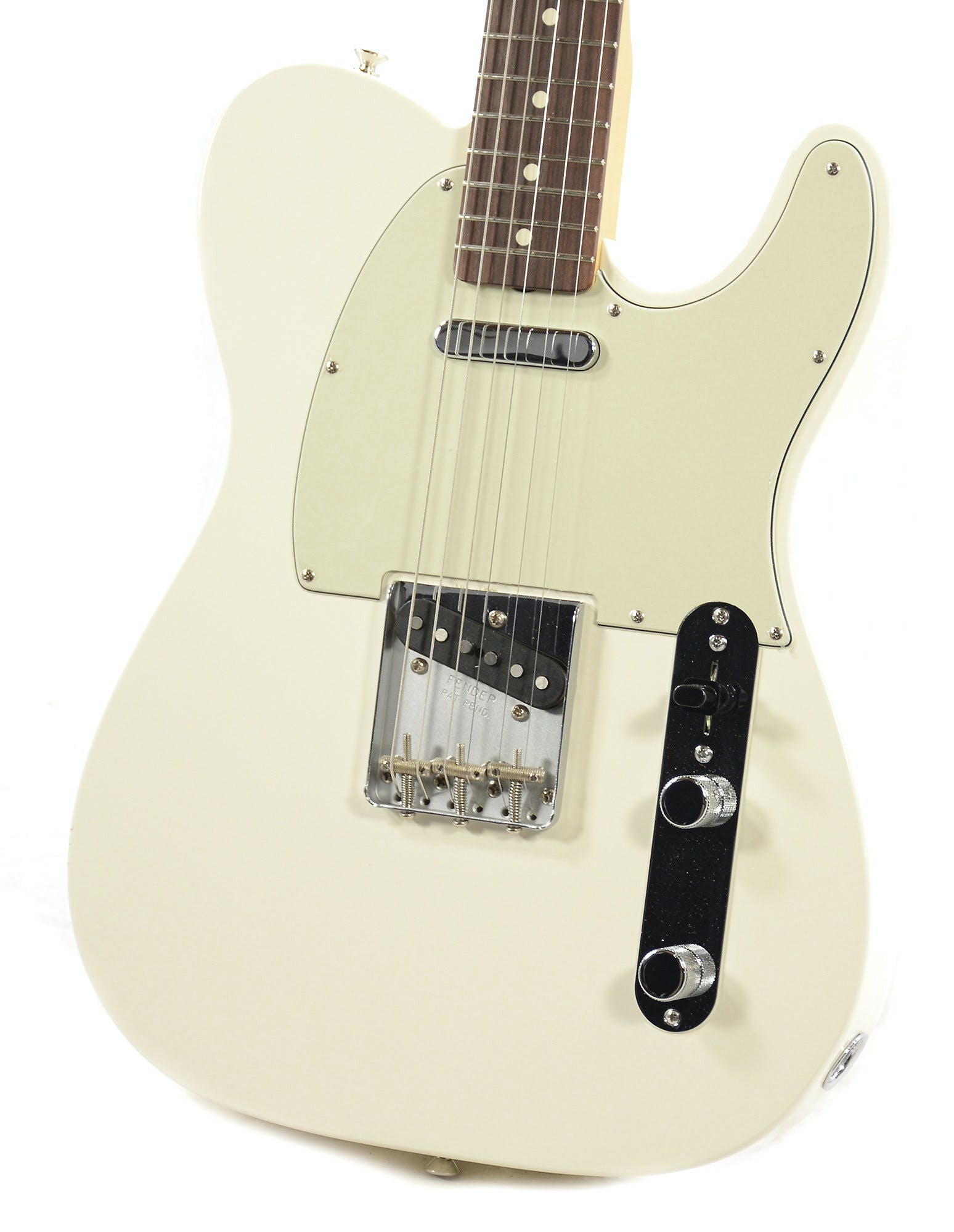 WHITE PEARLOID BLIND FACE SCRATCHPLATE FOR TELECASTER