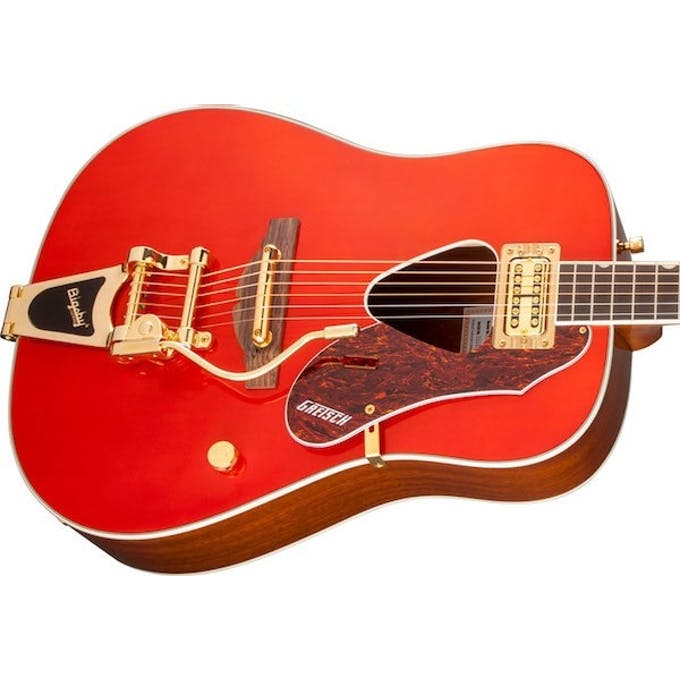 Gretsch Acoustic Guitars >> Gretsch G5034tft Rancher Electro Acoustic In Savannah Sunset Andertons Music Co