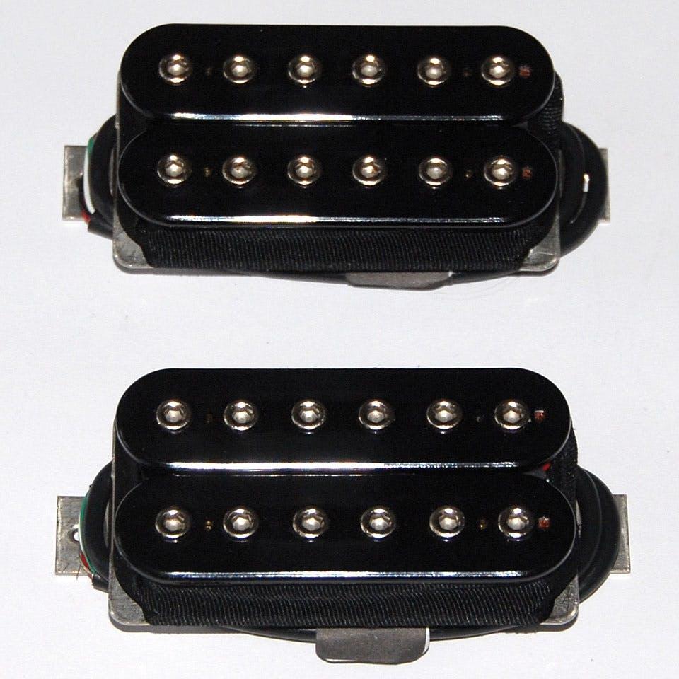 Gitaren, bassen, accessoires Bare Knuckle Warpig Alnico Open Bridge Humbucker Pickup Black Coil Nickel Screws Onderdelen en accessoires