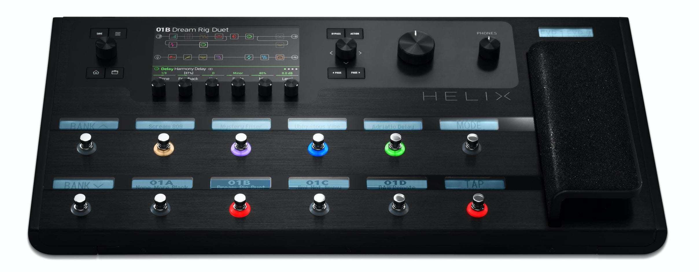 Line 6 Helix Floor Multi Effects Unit Andertons Music Co
