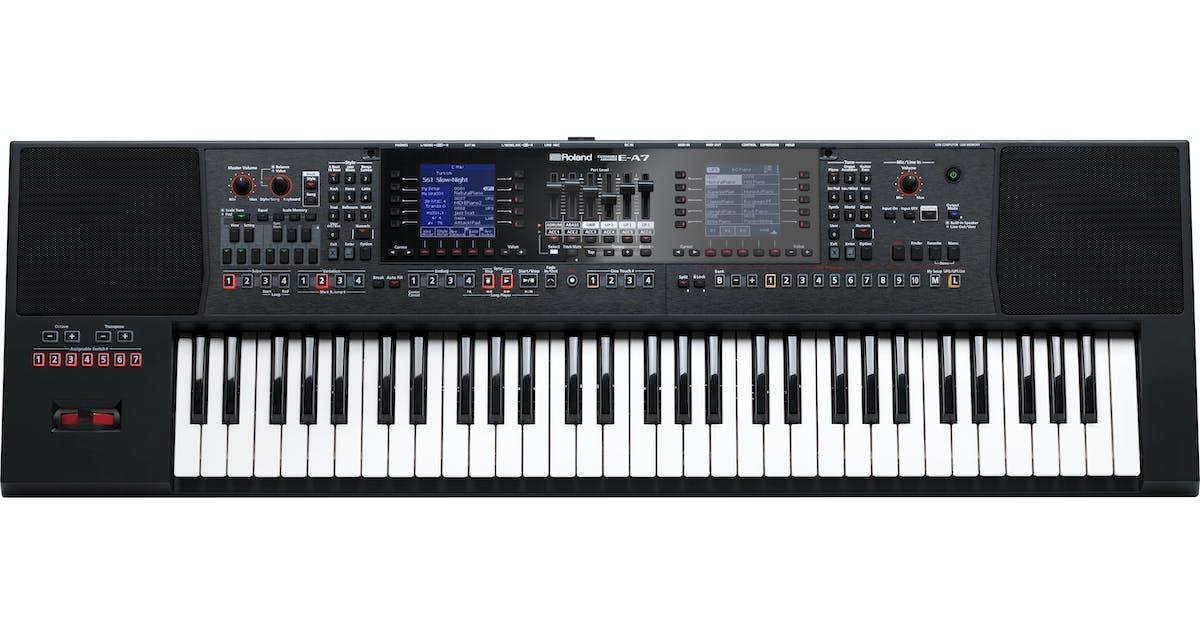 Roland E-A7 Expandable Arranger Keyboard - Andertons Music Co